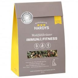 Hardys Nahrungsergänzung Wohlfühlkräuter Immun & Fitness 45g