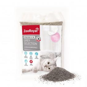 ZooRoyal Grey Selection Klumpstreu mit Babypuderduft