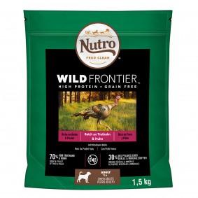 Nutro Adult Wild Frontier mit Truthahn und Huhn