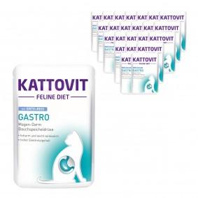 KATTOVIT Feline Diet Gastro Ente und Reis 24x85g