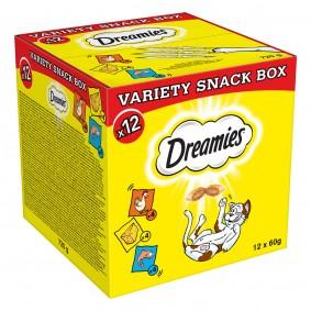 Dreamies Katzensnack Mixbox 12x60g