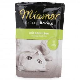 Miamor Katzenfutter Ragout Royale in Jelly Kaninchen