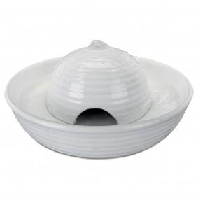 Trixie Trinkbrunnen Keramik, Vital Flow Mini, 0,8L - weiß